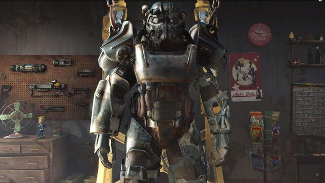 File:Power Armor Station in FO4 Trailer.jpg