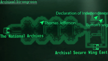 Fo3 National Archives Strongroom map