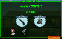 FoS Cabin Without The Woods rewards