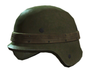 Fo4 dirty army helmet