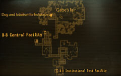 X-8 testing facility gabes lair
