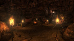 Angel Cave interior