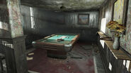 FO4 Boylston Club billiard table