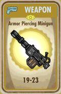 FoS Armor Piercing Minigun Card