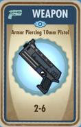FoS armor piercing 10mm pistol