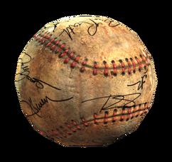 Fo4 signed baseball