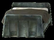 Vault bed clean