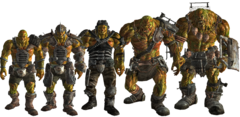 FO3 super mutants line-up
