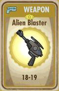 FoS Alien Blaster Card