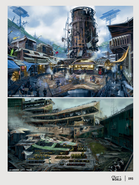 Diamond City concept art