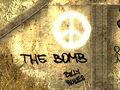 Ban the Bomb graffiti.jpg