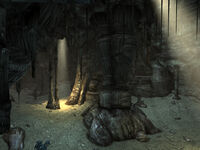 Scorpion burrow int
