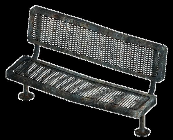 File:Metal bench.png