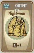 FoS Nightwear Card