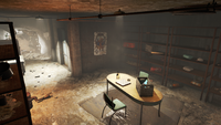FO4 Backyard Bunker Interior