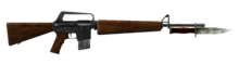 FNV Service Rifle All Bayonet