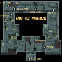 Los Vault-Tec warehouse
