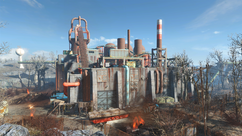 FO4 Saugus Ironworks