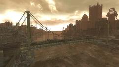 The Pitt bridge