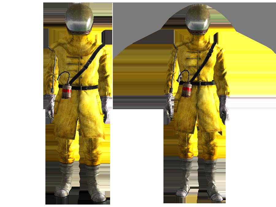 Advanced radiation suit (Fallout: New Vegas) | Fallout ...