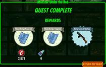 FoS Monster Under the Bed rewards