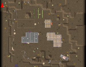 VB DD09 map Circle of Steel Hideout