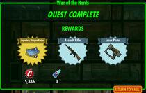 FoS War of the Nerds rewards