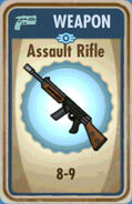 FoS Assault Rifle Card