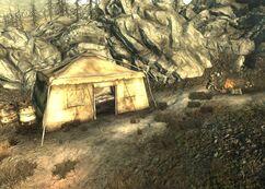 Wastelander Tent and Sniper Vista