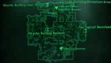 Chryslus Building Reception Area map