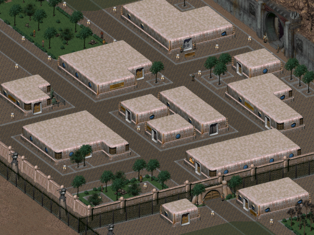 File:Fo2 Vault City Downtown.png