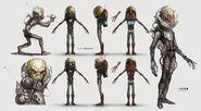 Art of FO4 Alien