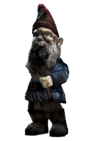 Fo4FH garden gnome destroyed