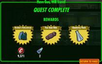 FoS Have Gun, Will Travel rewards