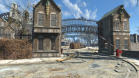 FO4 Parsons asylum gate