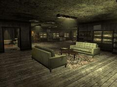 Pearls barracks interior