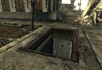 Old Olney Sewer entrance