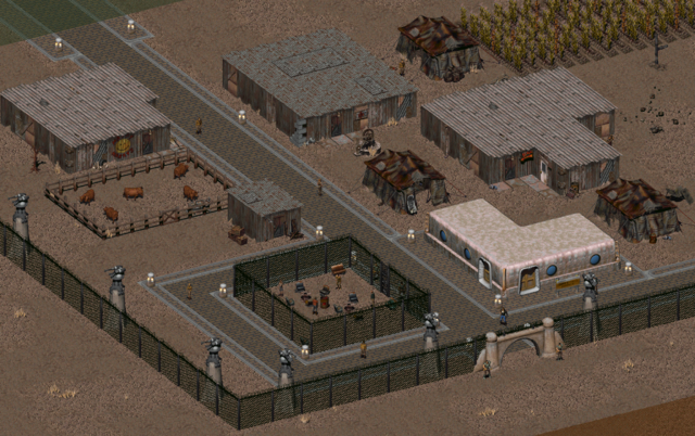 File:Fo2 Vault City Courtyard.png