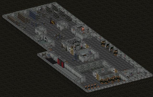 File:Fo2 Sierra Army Depot Robotic Repair Bay and Storerooms.png