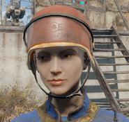Security helmet fo4