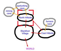 North Hillside map