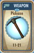 FoS Pickaxe Card