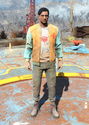 Fo4 Bottle and Cappy Orange Jacket and Jeans.png