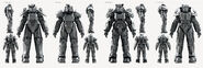 Fo4 power armor concept art
