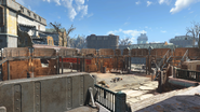 FO4 Cambridge Police station exterior 2