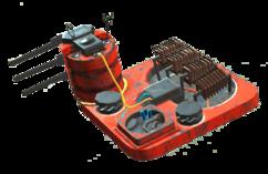 Beacon amplifier