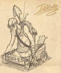Fast Eddie Concept Art