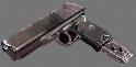 Colt 6504 9mm autoloader extended magazine hand