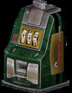 FNV green slotmachine