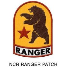 Art-NCR ranger patch